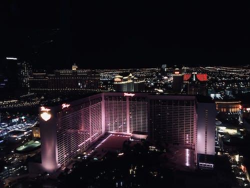 Бесплатное стоковое фото с город, город грехов, здания, Лас-Вегас