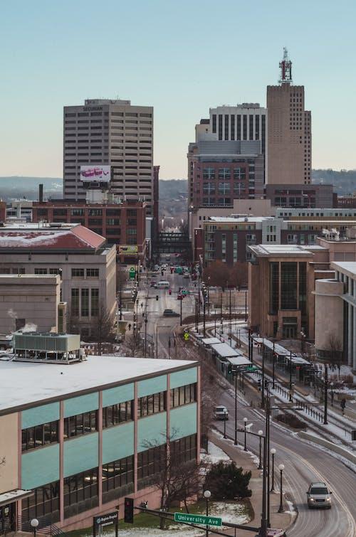 Free stock photo of cityscape, minnesota, saint paul