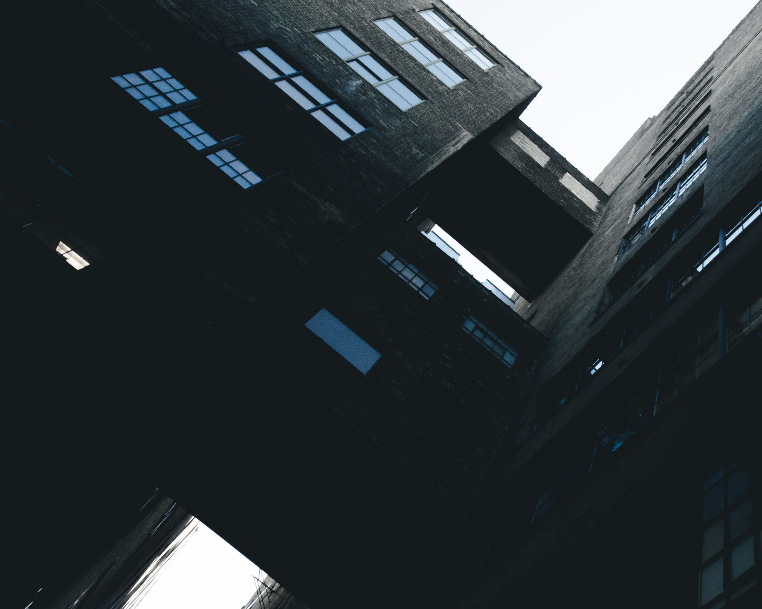 Free stock photo of architecture, backlight, blue, building