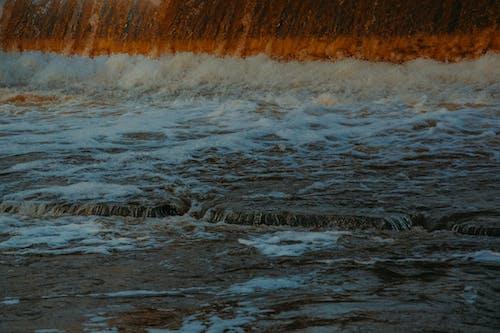 Základová fotografie zdarma na téma matka příroda, mávání, moře, oceán