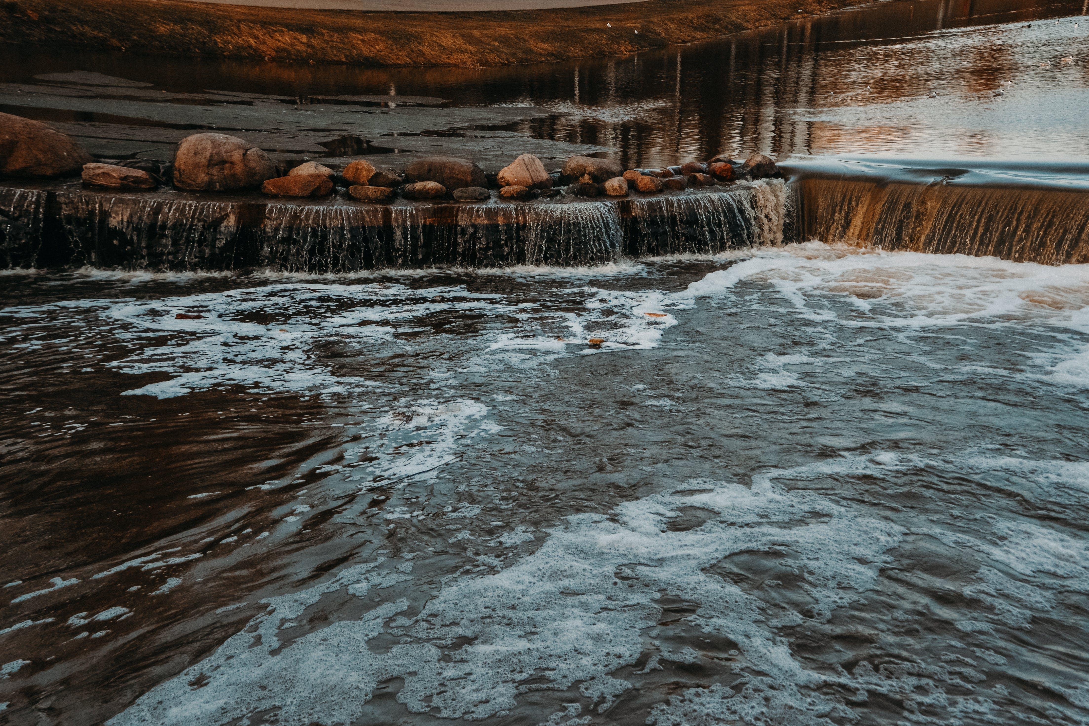 Kostnadsfri bild av bäck, fors, idyllisk, landskap