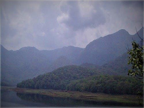 Free stock photo of lakeside, mountain lake, snow mountain