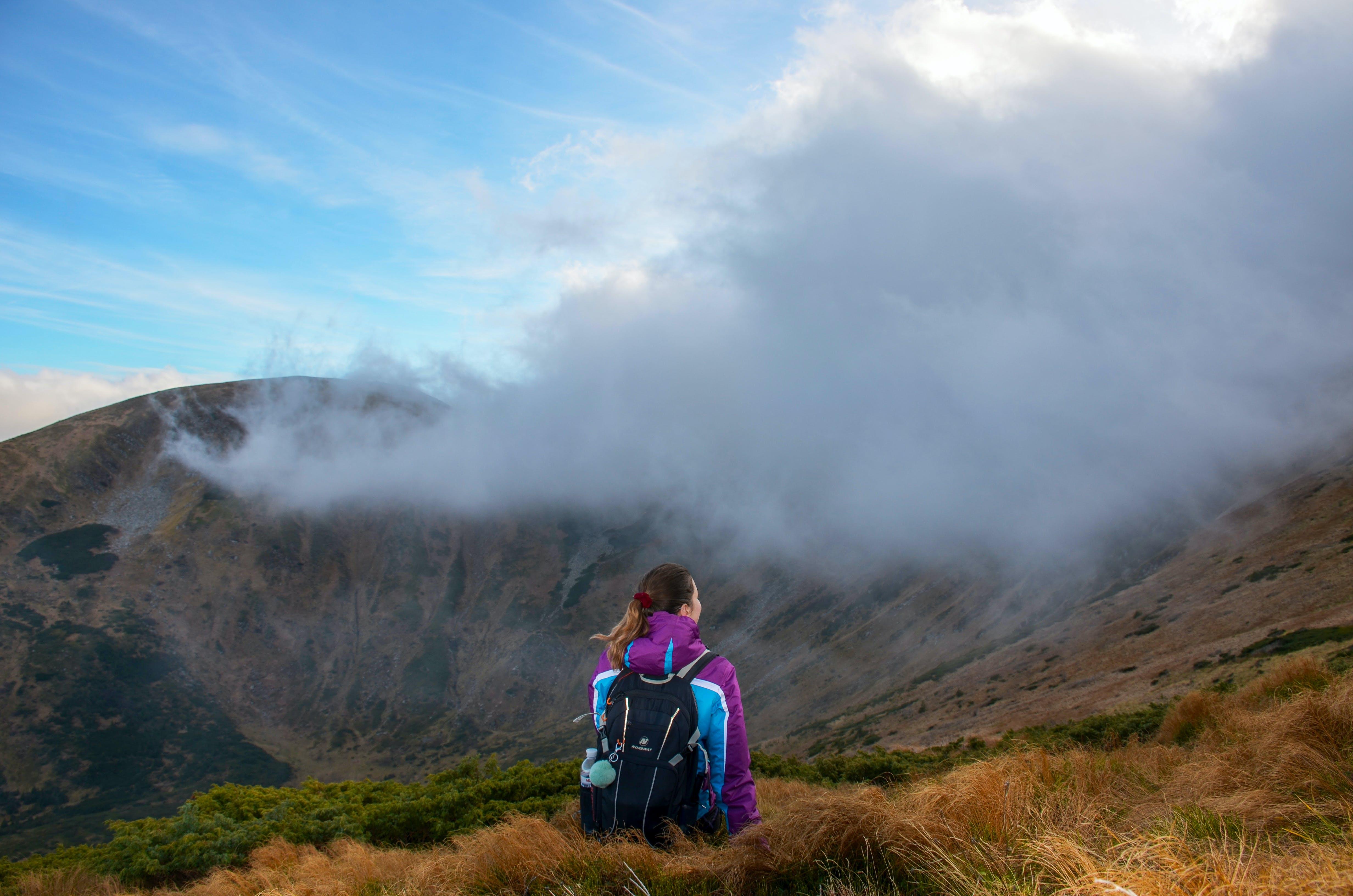 Gratis lagerfoto af bjerg, bjergtinde, dagslys, dis