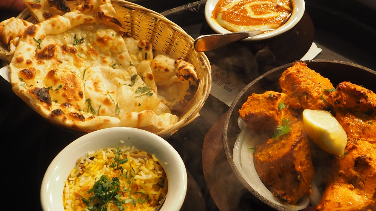 Free stock photo of curry, delicious food, delicious indian food