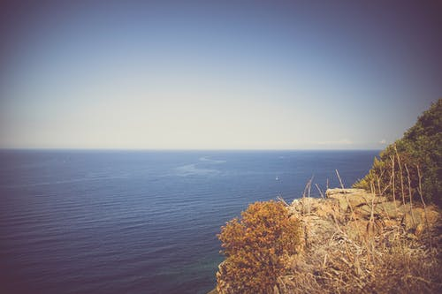 Free stock photo of cliff, horizon, nature