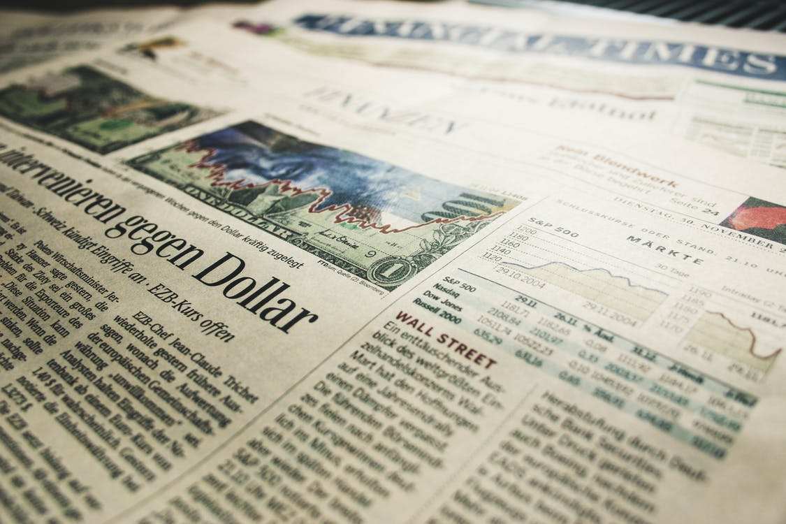 Free stock photo of finance, financial times, news