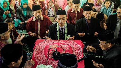 Photos gratuites de mariage, musulman, prier