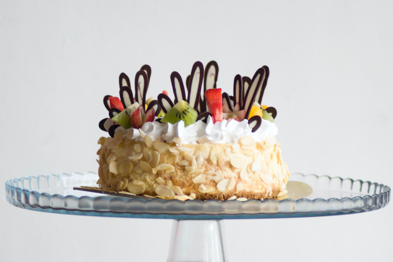 Birthday Cake In Men S Hands 183 Free Stock Photo