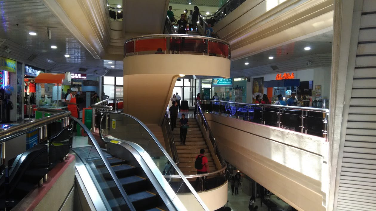 Free stock photo of shopping mall