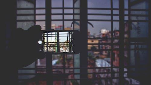 Foto stok gratis Arsitektur, bangunan, barang kaca, bayangan