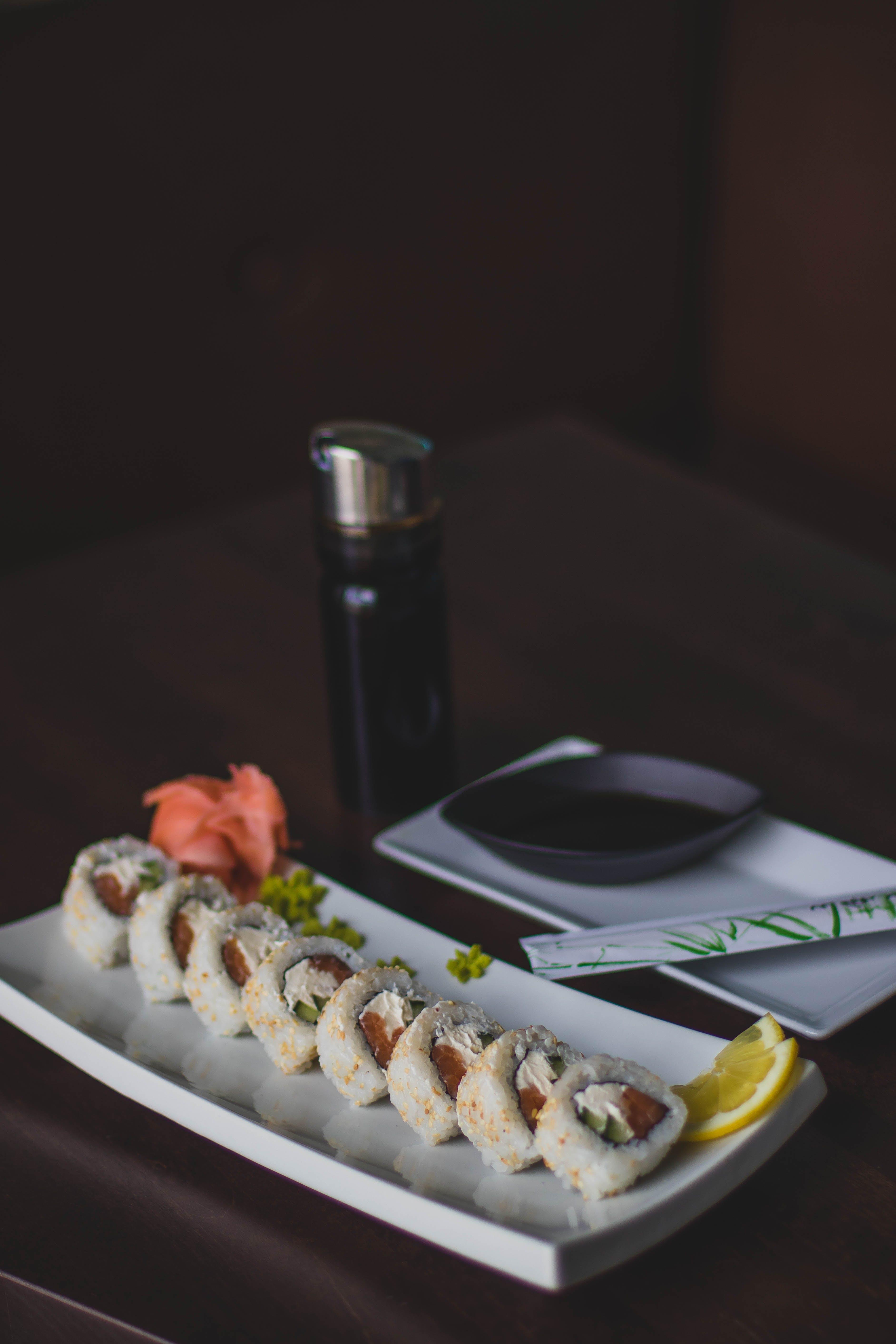 Základová fotografie zdarma na téma chutný, jídlo, kreveta, losos