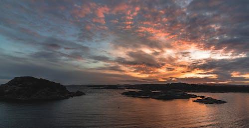 Darmowe zdjęcie z galerii z chmura, ciemny, krajobraz, ocean