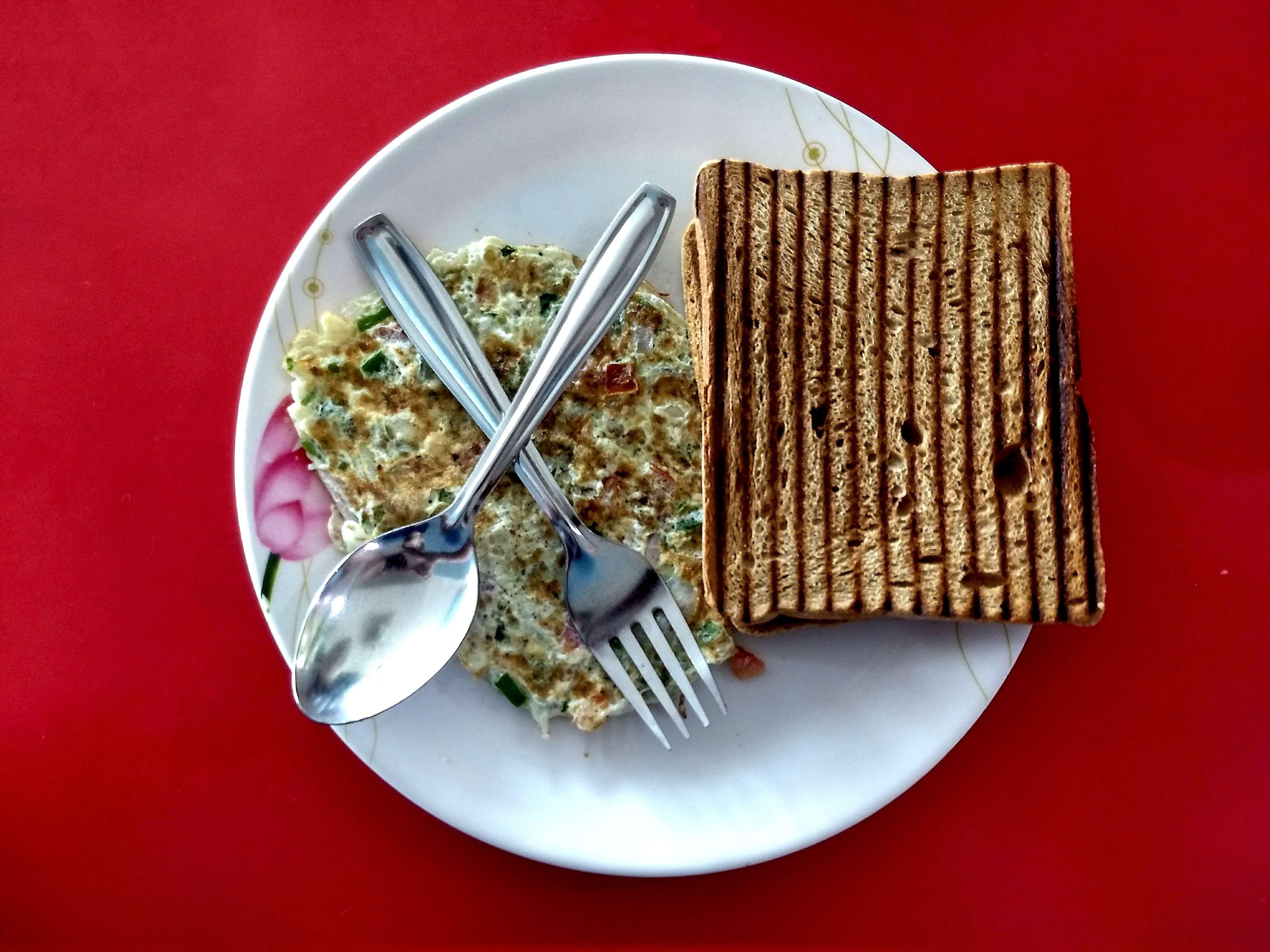 Free stock photo of 2018, afterworkout, bread, breakfast
