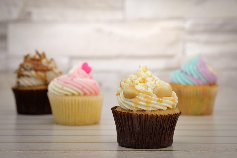 Gratis lagerfoto af bage, bageri, bagt, cupcakes