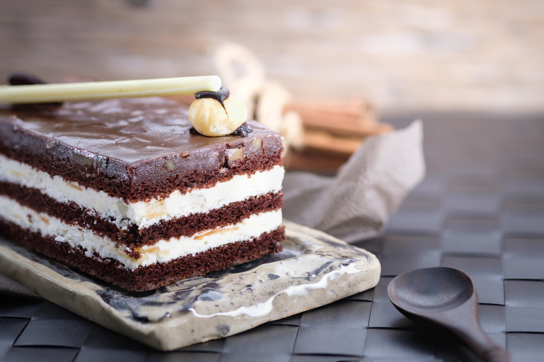 Chocolate Cake Slice · Free Stock Photo