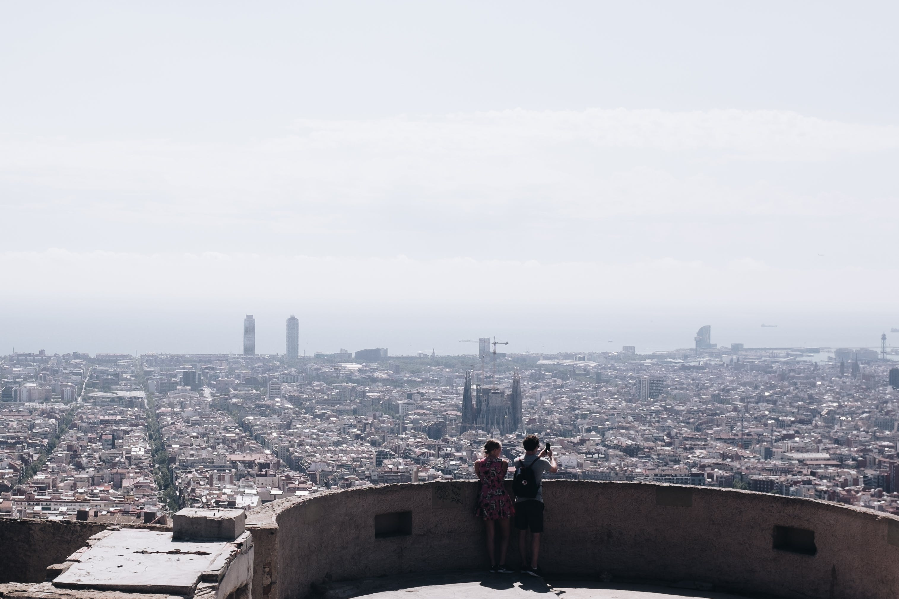 Photo of Two People at the Rooftop