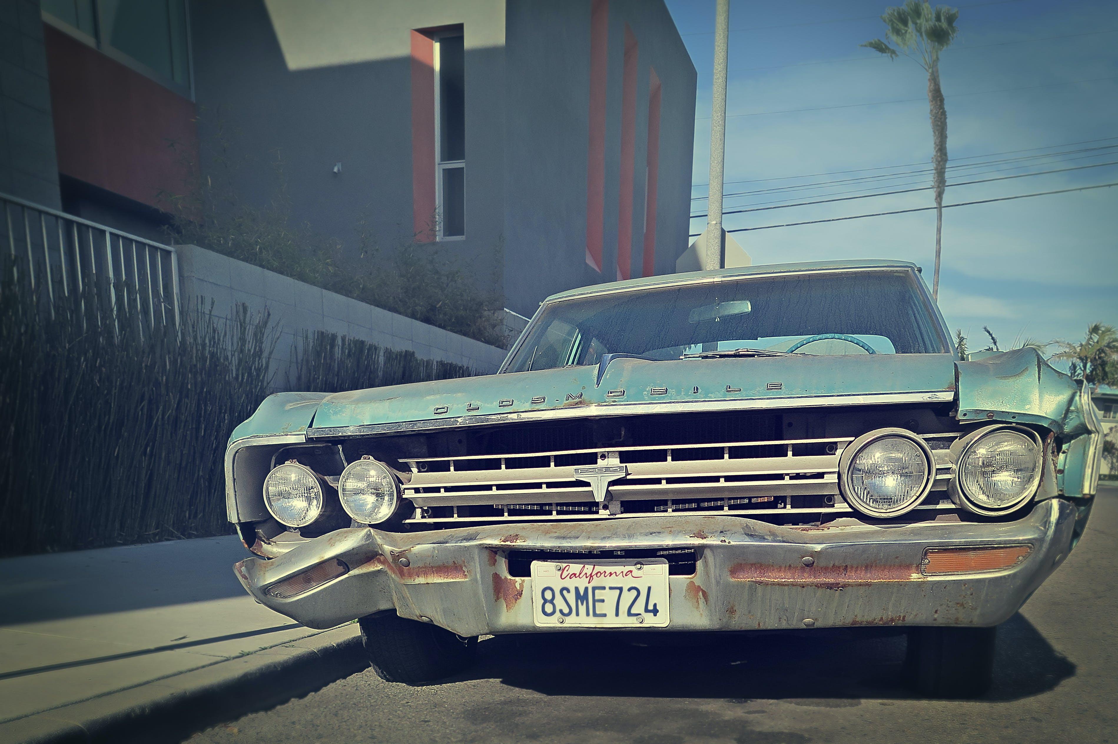 automobile, car, chrome