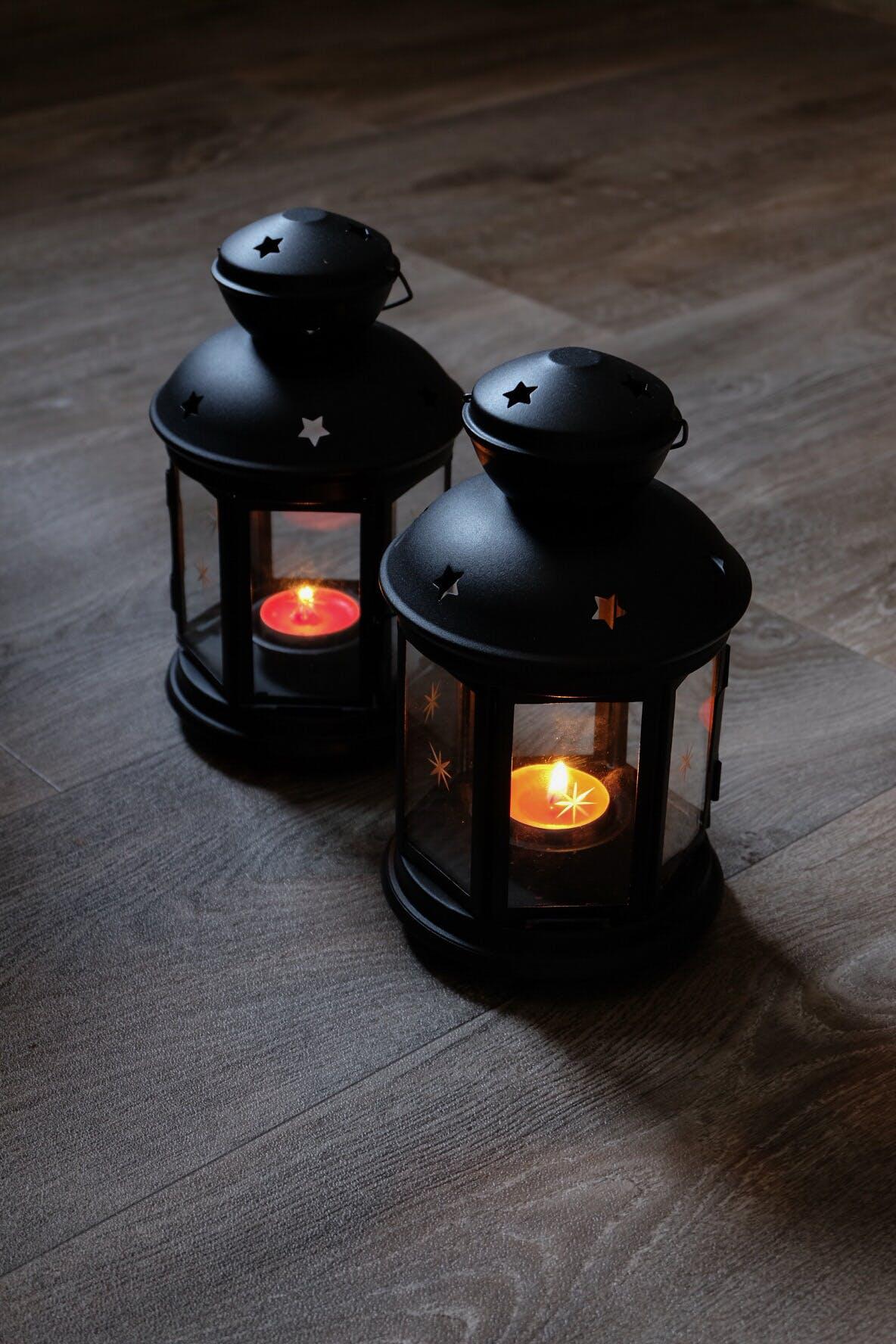 Foto profissional grátis de lampião, ramadã