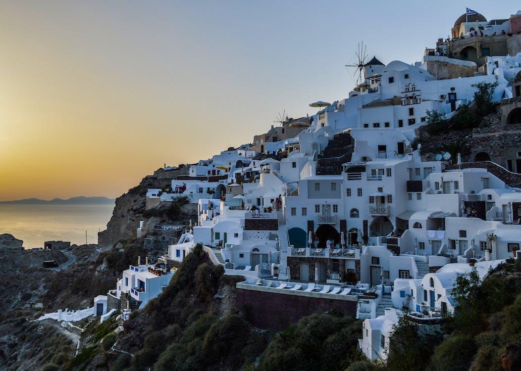 architektura, cestovní ruch, denní světlo