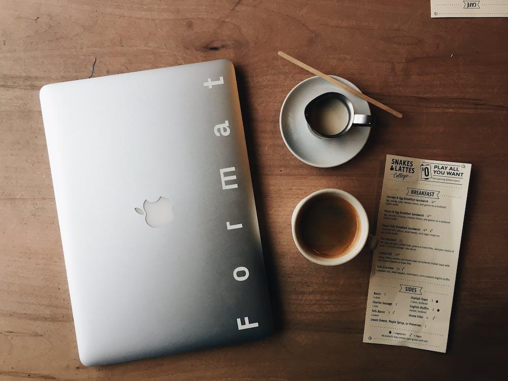 คลังภาพถ่ายฟรี ของ กระดาษ, กาแฟ, จานรอง