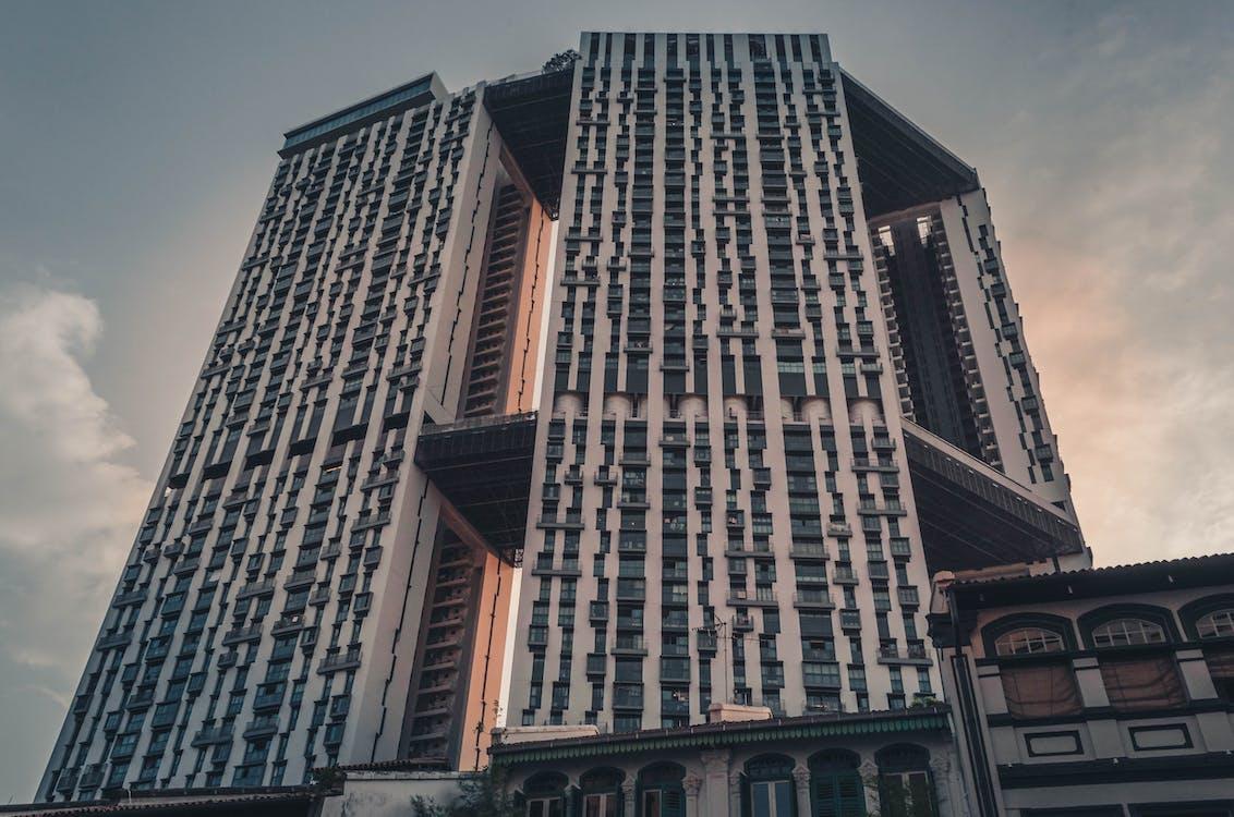 alto, aparência, apartamento