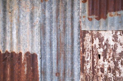 Foto stok gratis bahan, baja, bangunan, bergelombang