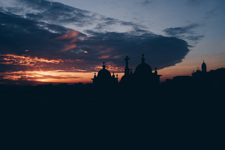 Foto d'estoc gratuïta de arquitectura, capvespre, castell, clareja