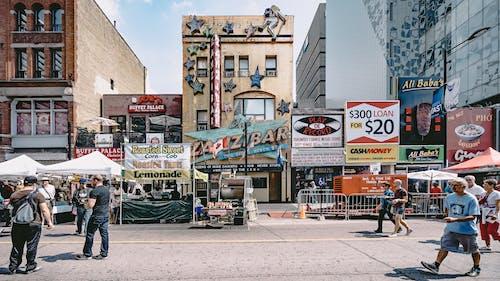Darmowe zdjęcie z galerii z architektura, asortyment, billboard, bitwa