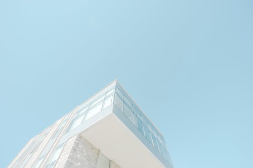 bakış açısı, bina, bina cephesi, cam eşyalar içeren Ücretsiz stok fotoğraf