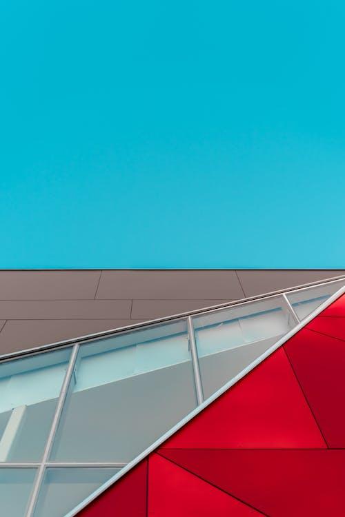 acciaio, alto, architettonico