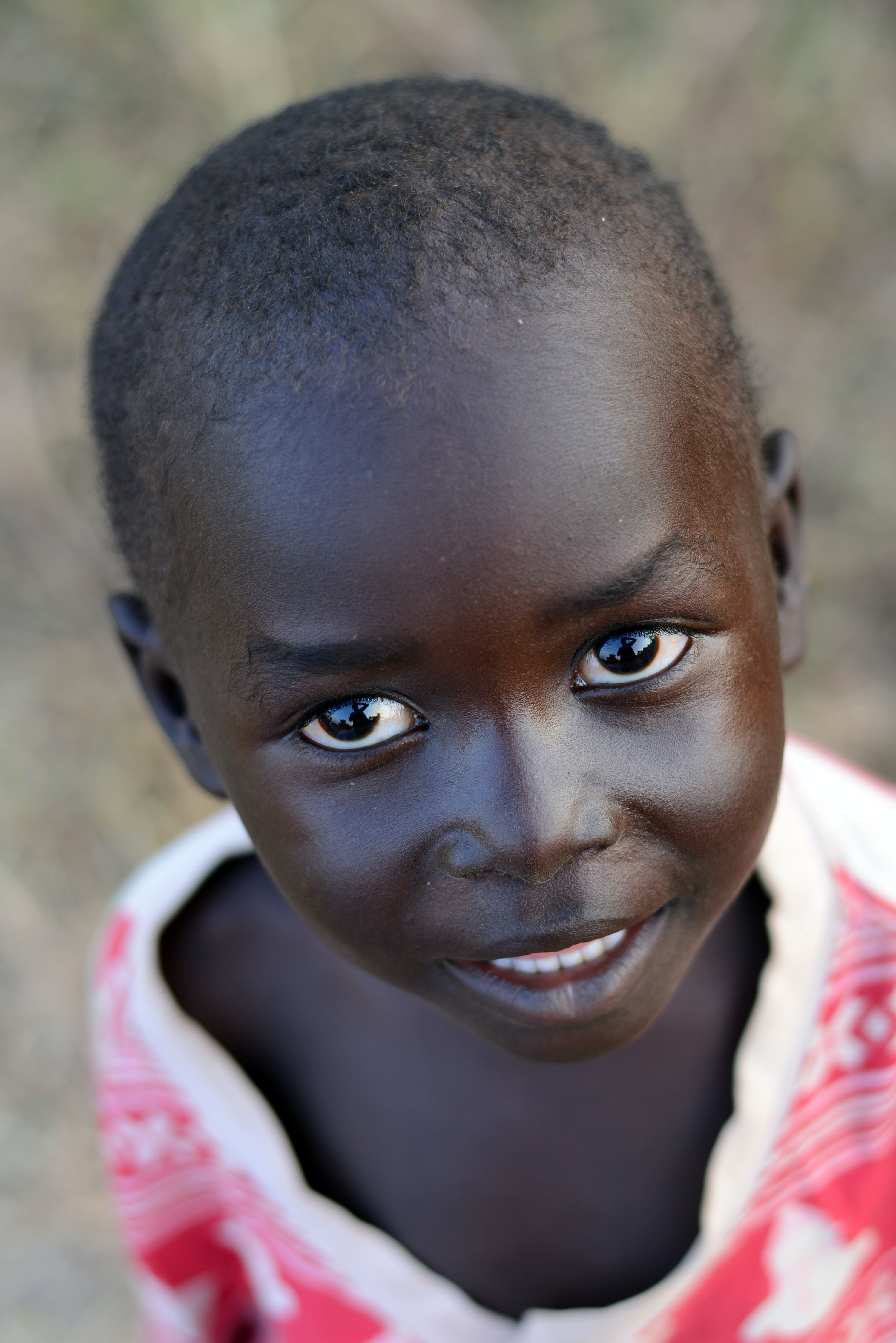 Free stock photo of african child