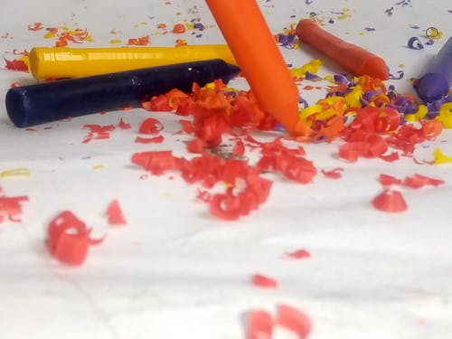 Free stock photo of art, colors, crayon, crayons