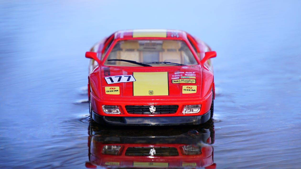 Ferrari, leksaksbil, miniatyr