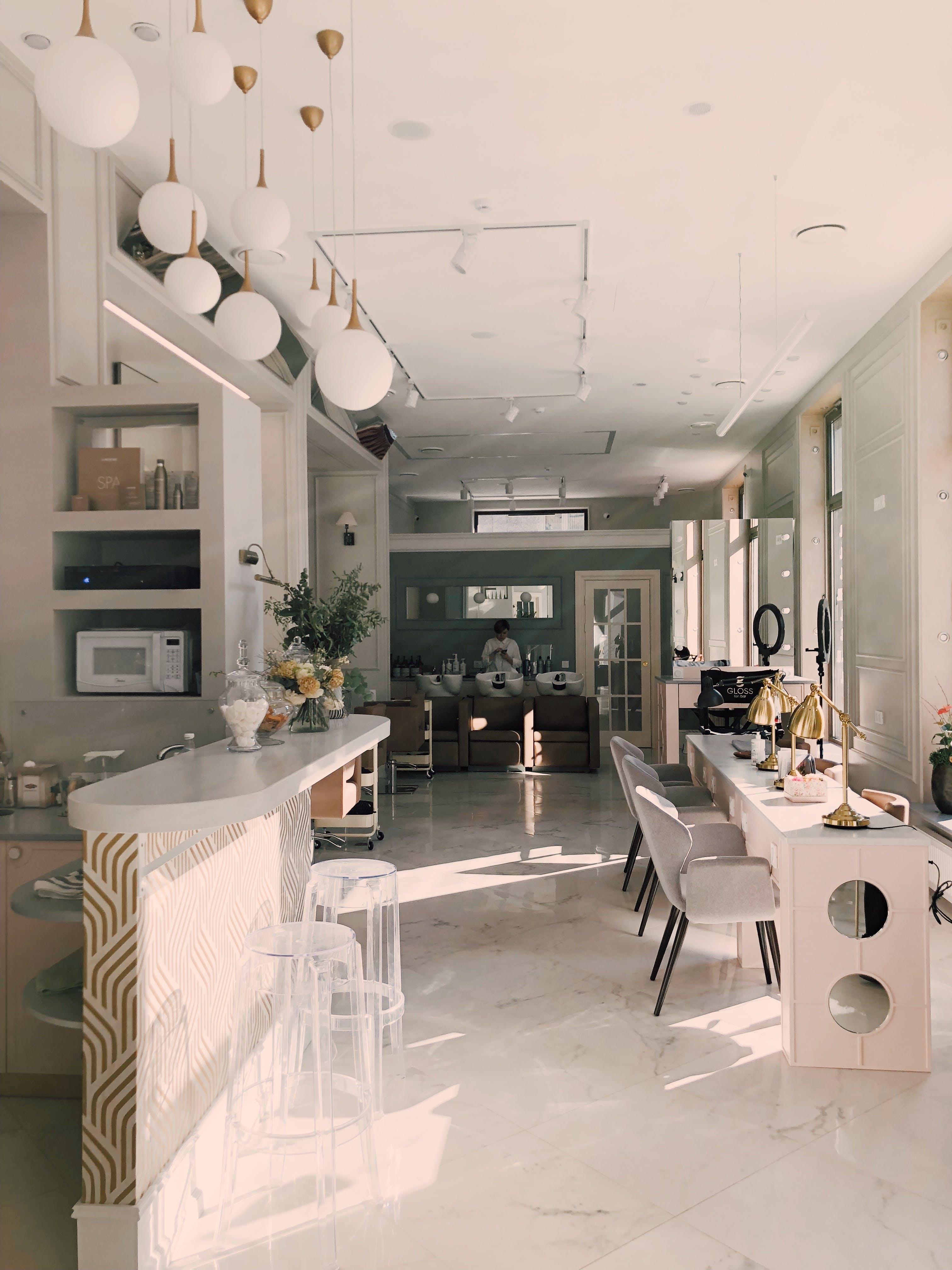 apartman, güzellik salonu, iç dizayn, iç mekan içeren Ücretsiz stok fotoğraf