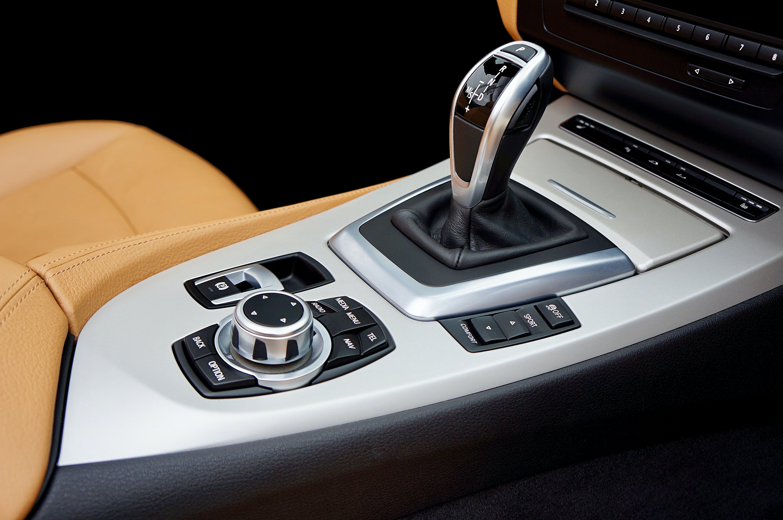 Gray Vehicle Gear Shift Knob