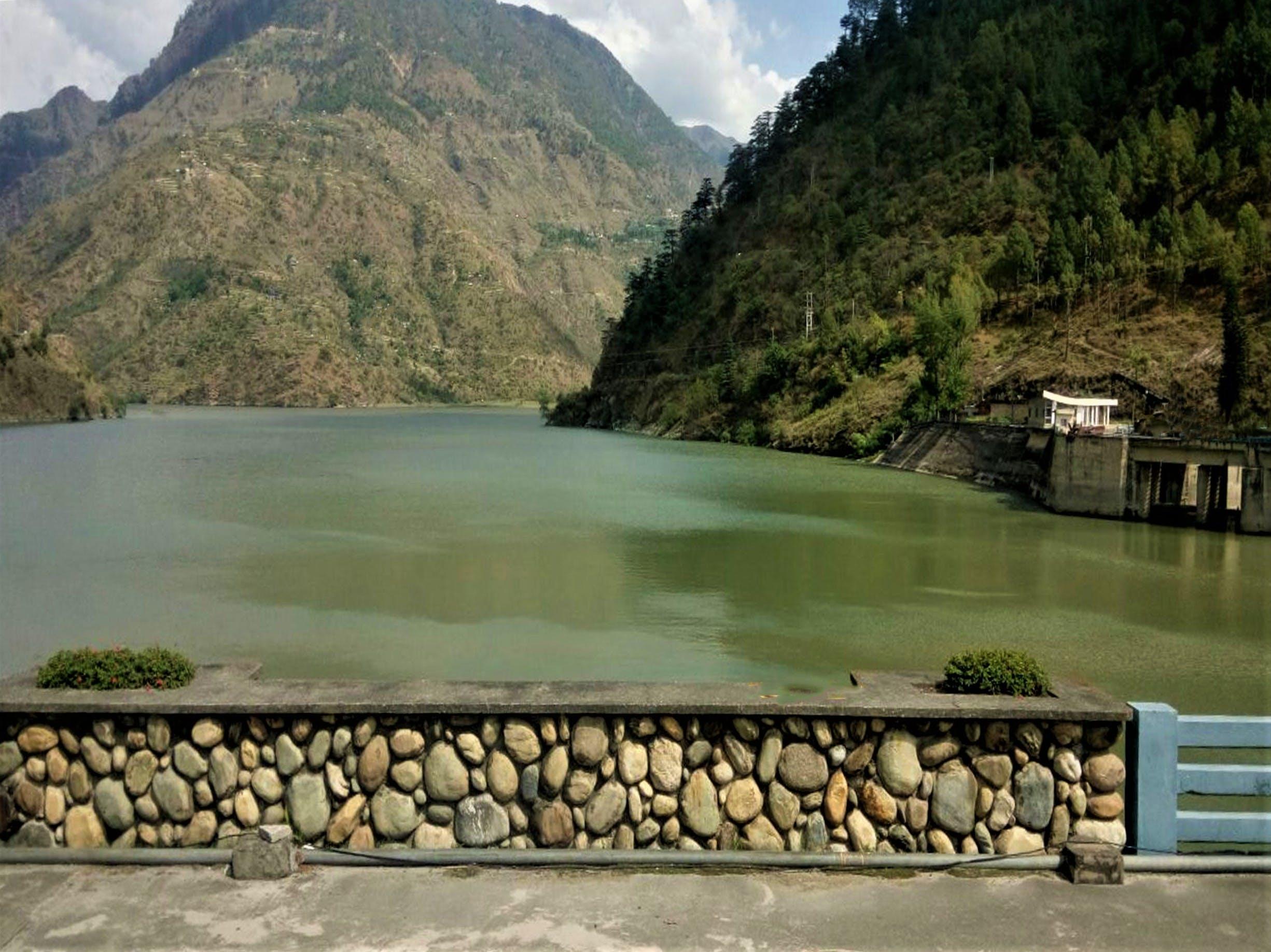 Free stock photo of himalaya, mountain lake, mountain peak