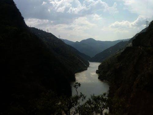 Free stock photo of blue mountains, mountain, mountain lake