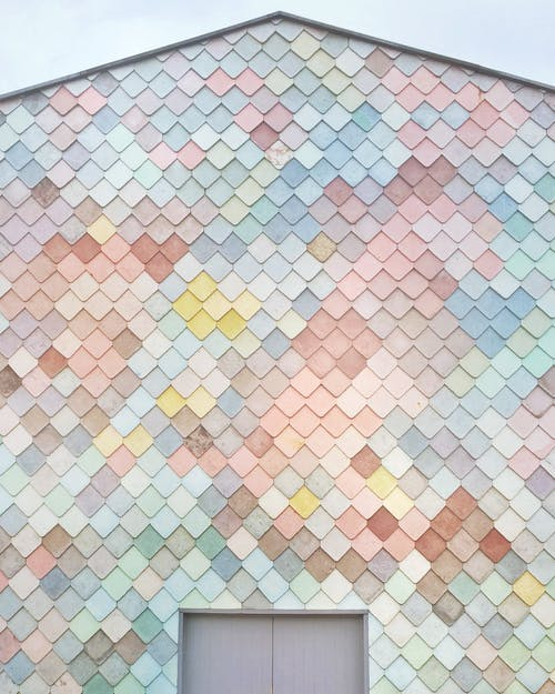 คลังภาพถ่ายฟรี ของ บ้าน, ผนัง, พื้นหลังสีพาสเทล