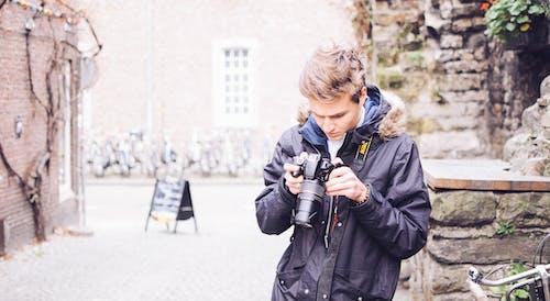 アダルト, アナログ, おとこ, カメラの無料の写真素材