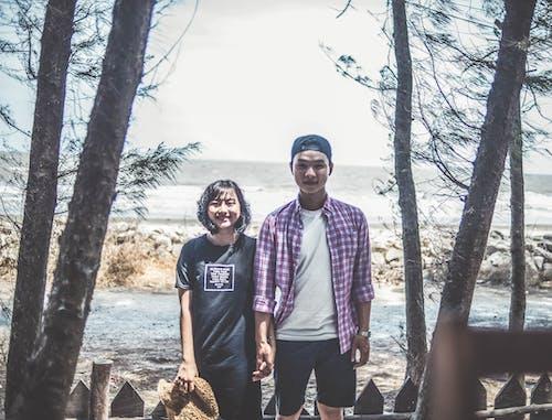 Gratis lagerfoto af 35 mm, asiatisk, asiatisk dreng, Asiatisk pige
