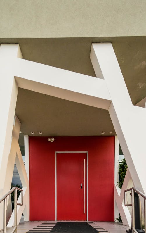 Kostenloses Stock Foto zu architektur, gebäude, modern, rot