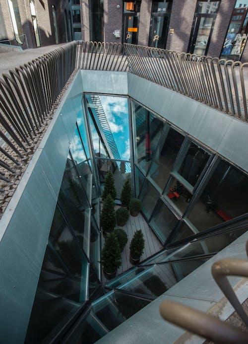 Foto profissional grátis de aeroporto, arquitetura, arquitetura contemporânea, artigos de vidro