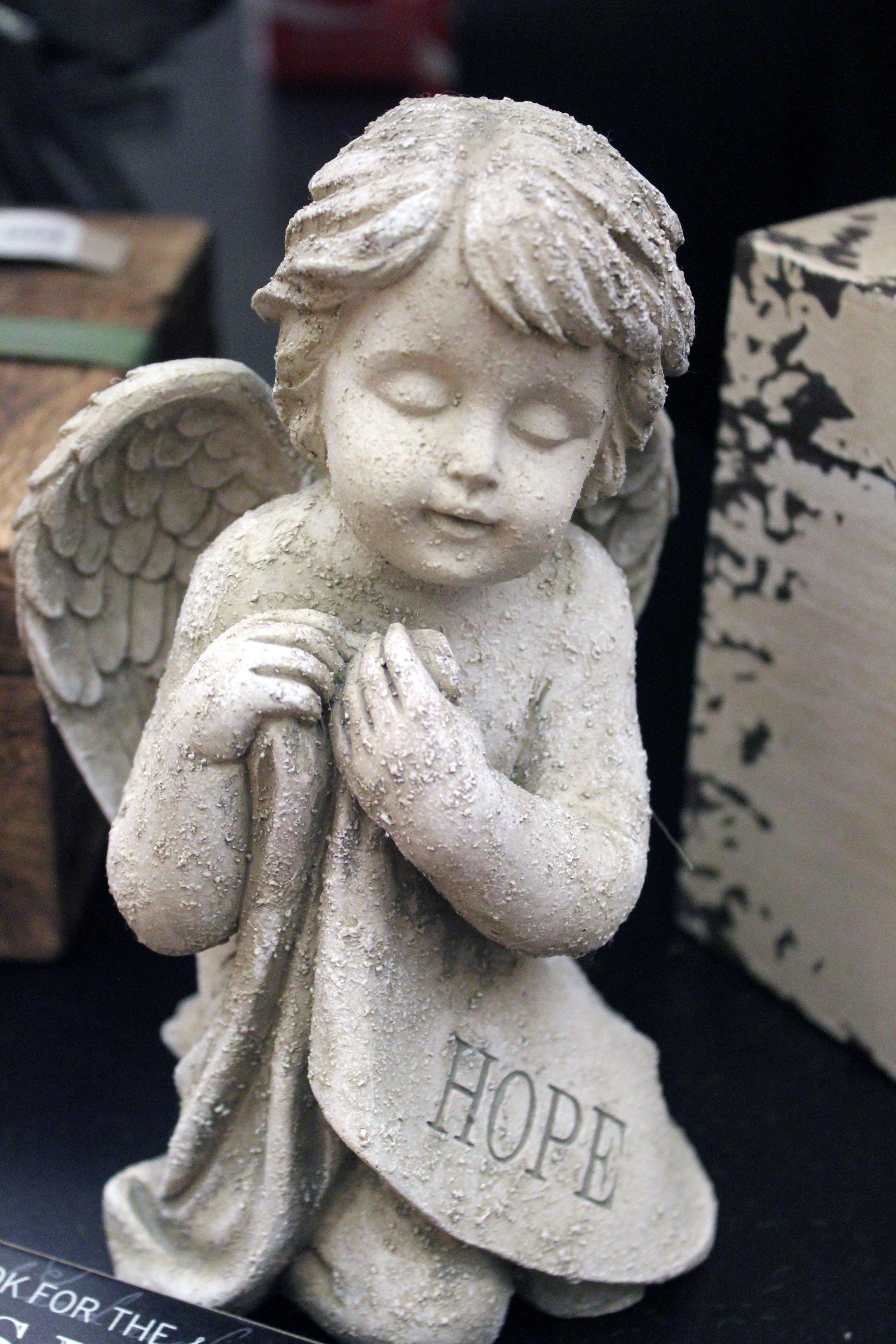Free stock photo of angel, hope, statue