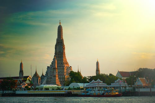 Immagine gratuita di acqua, architettura, Architettura asiatica, asia