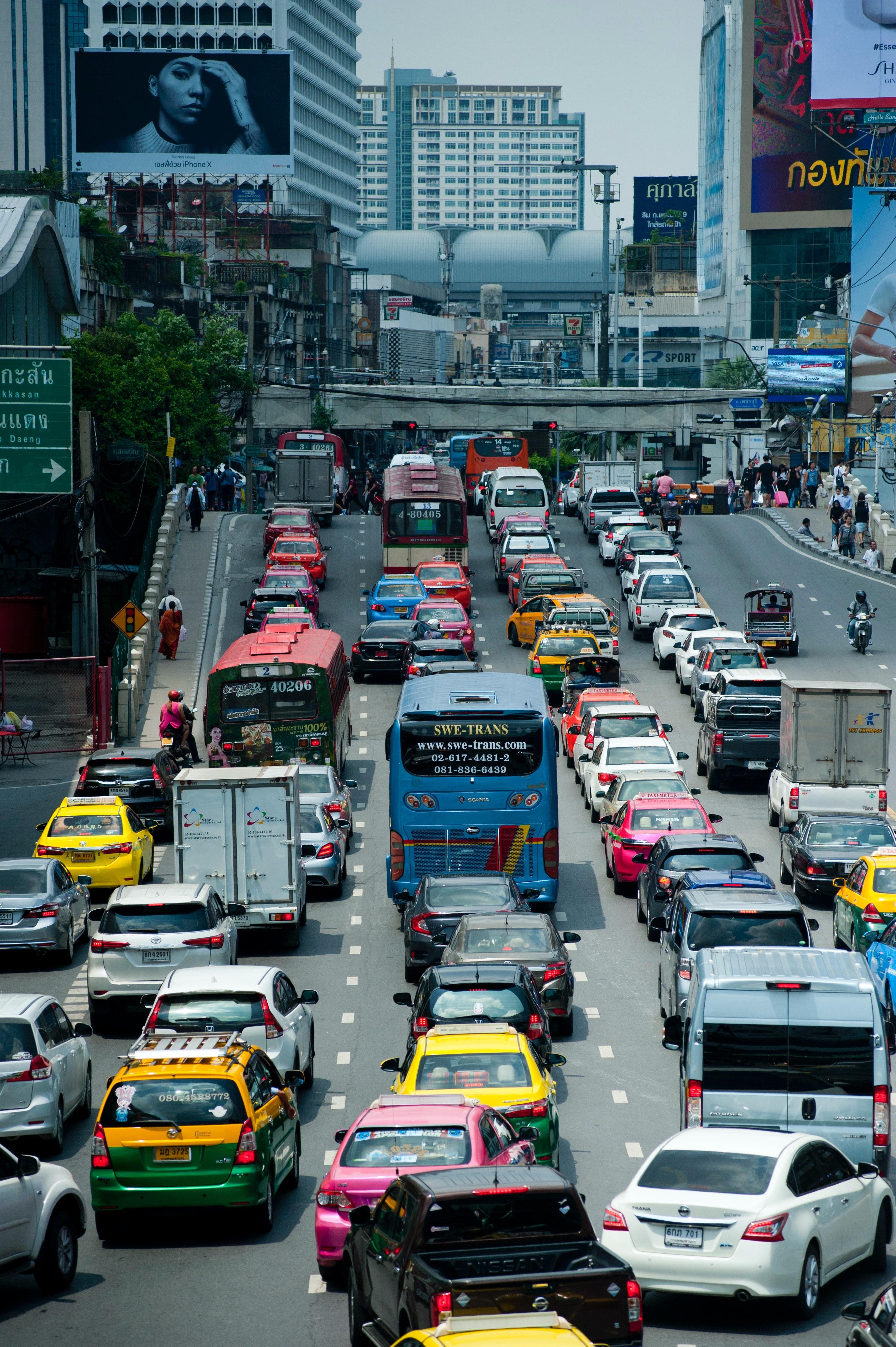 500+ Interesting Traffic Jam Photos · Pexels · Free Stock