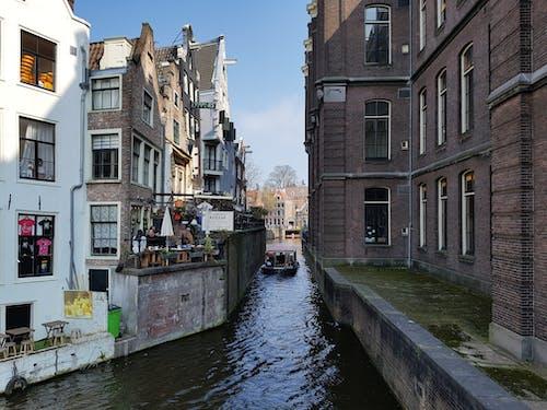 Immagine gratuita di acqua, amsterdam, barca, canale