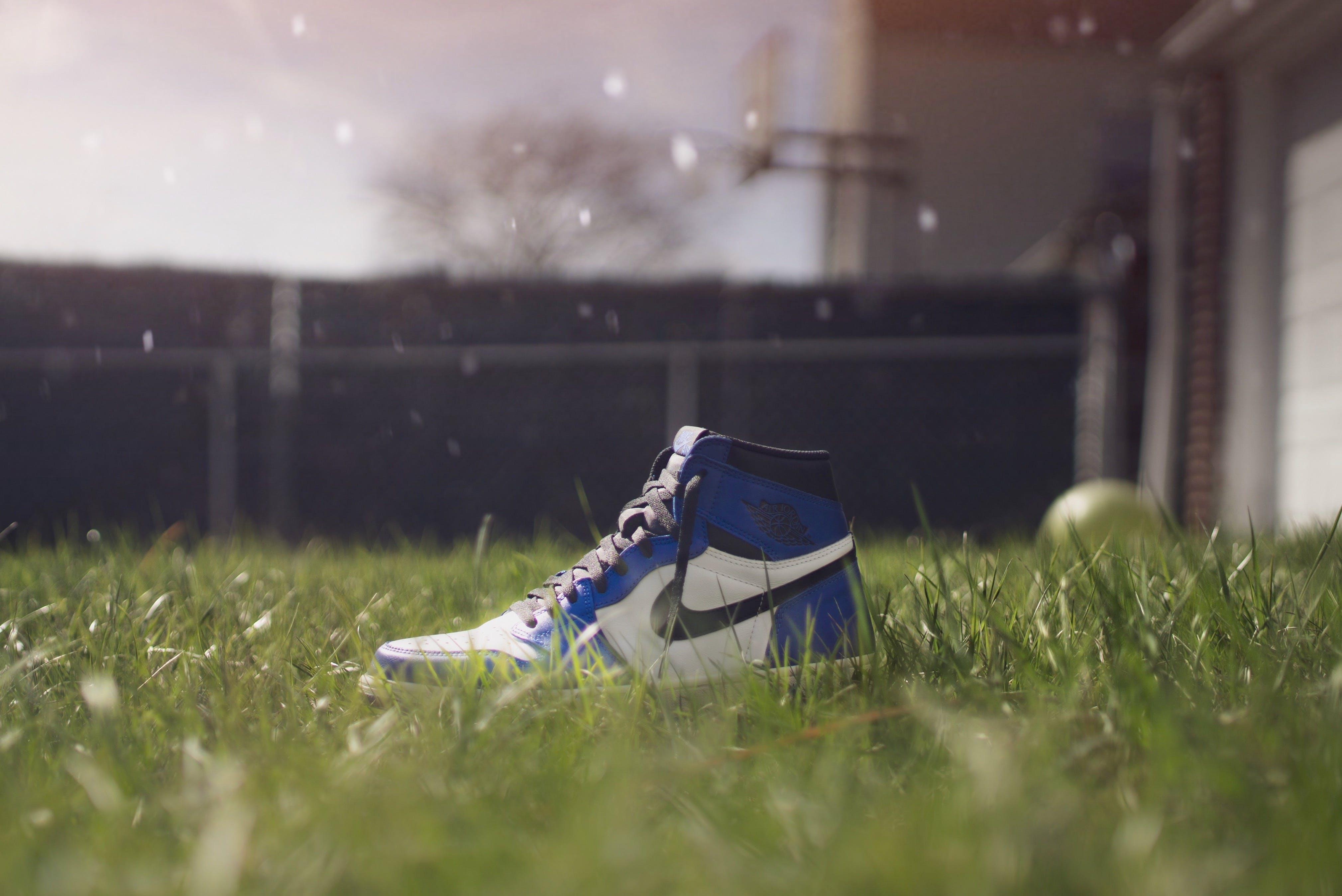 Selective Focus Photography of Air Jordan 1