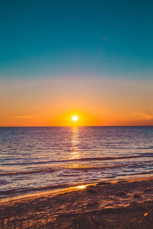 Gratis lagerfoto af aften, hav, havudsigt, sand