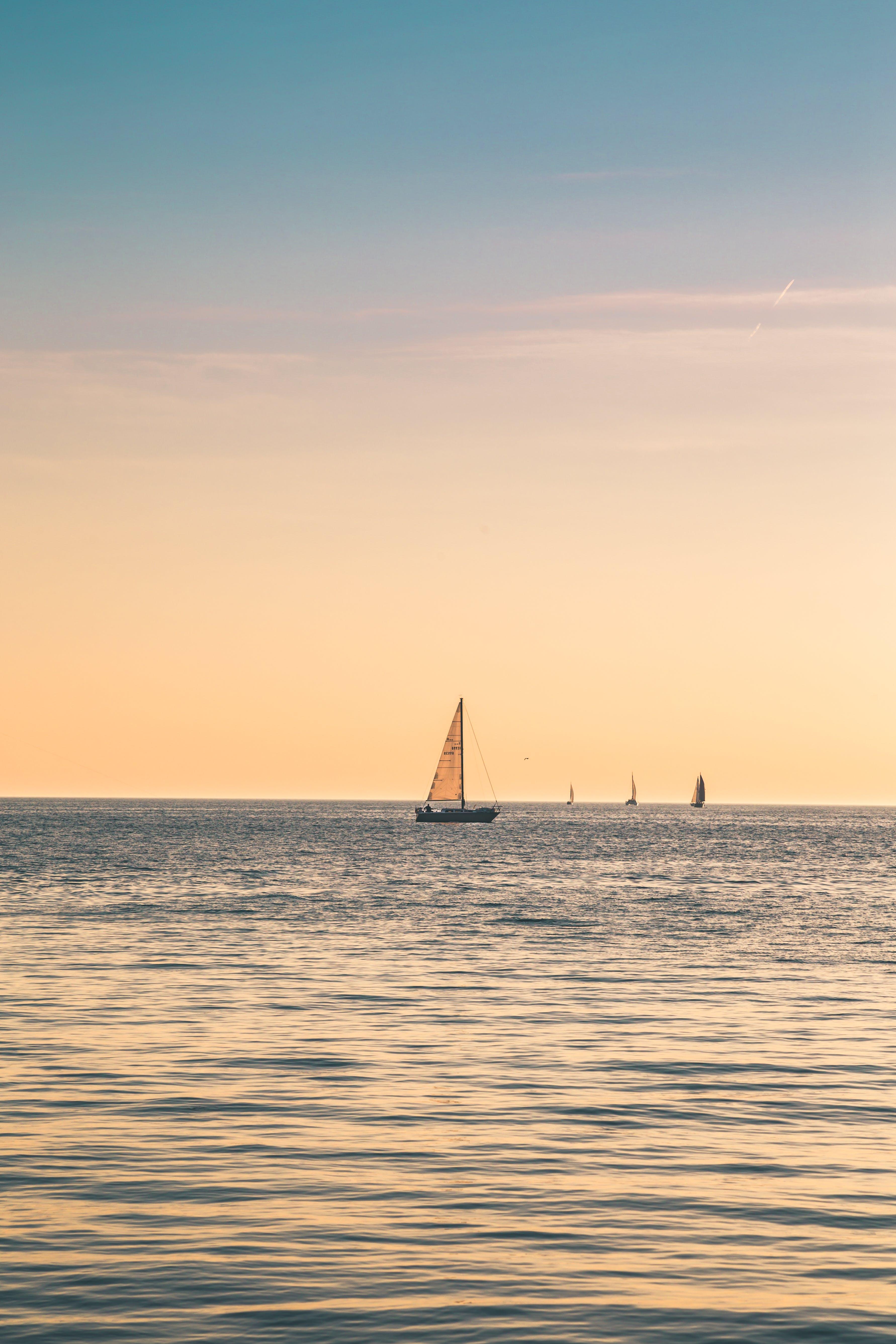 Ingyenes stockfotó festői, fodrozódás, hajnal, hajóm csónak témában