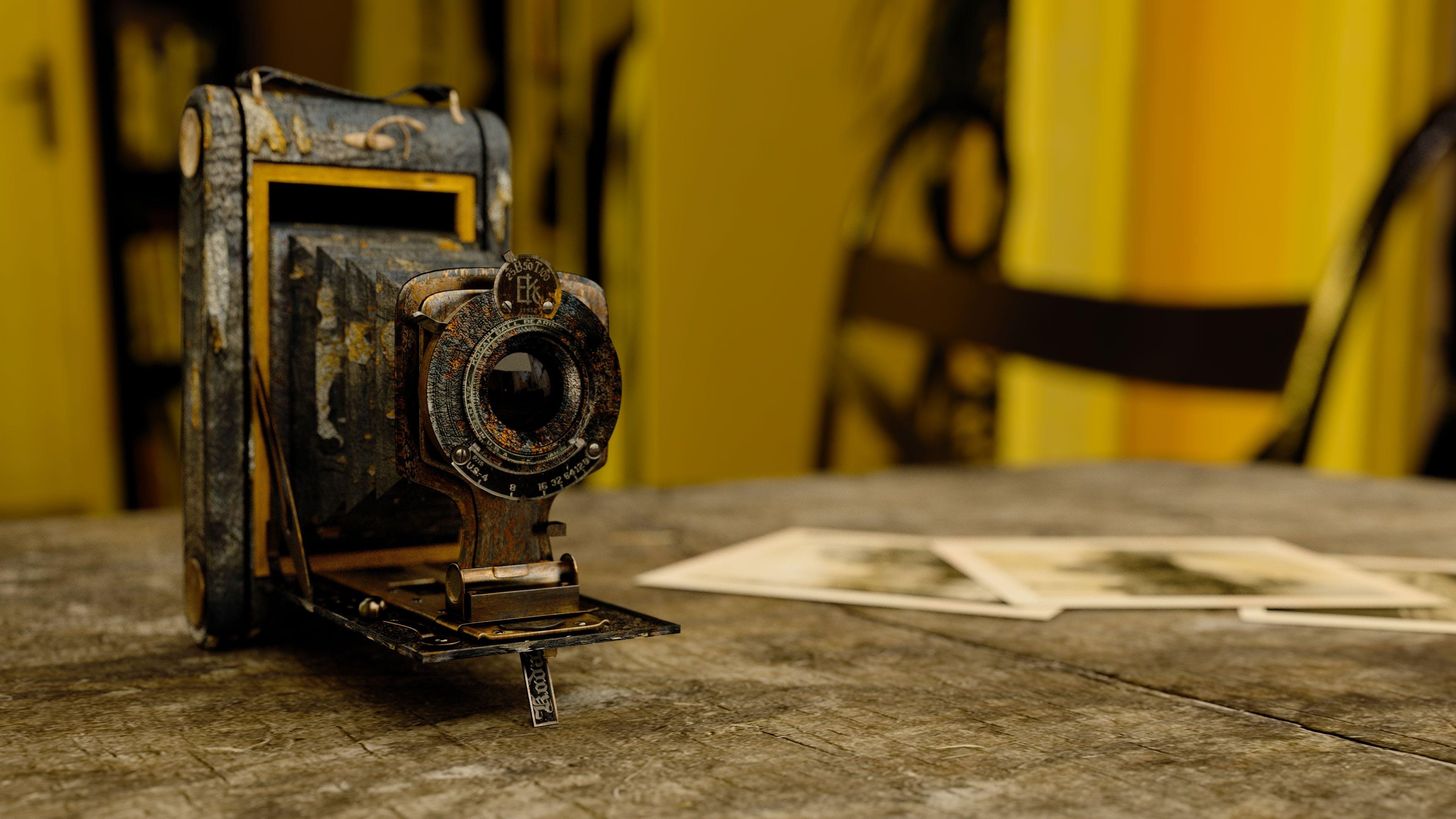 Kostenloses Stock Foto zu alte kamera, kamera, linse, zoom
